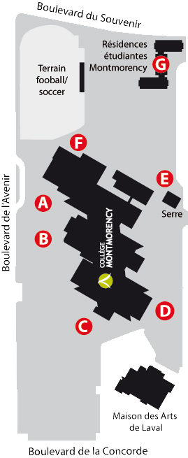 plan lieux rassemblement