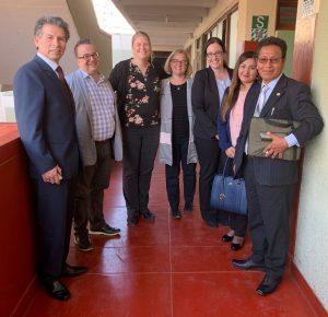 Lancement d'un nouveau projet de coopération au Pérou