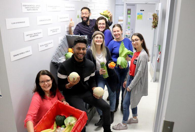 Groupe d'étudiants ayant contribué au projet de Boit'appétit.